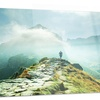 Mountains Landscape Photography Metal Wall Art 28x12