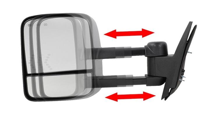 Gmc Sierra Yukon Xl Denali 07-13 Manual Mirror Glass No Heat Passenger Side
