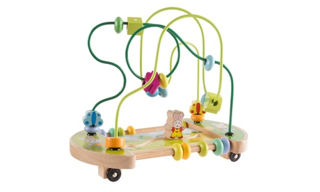 Wooden Maze Toy with Interactive Beads, Puzzle Table Game and Activity Center c564c4a1-1e81-44a3-b5eb-32ab236705cf