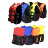 Adjustable Fully Enclosed Adult Swimming Life Jacket Vest with Whistle