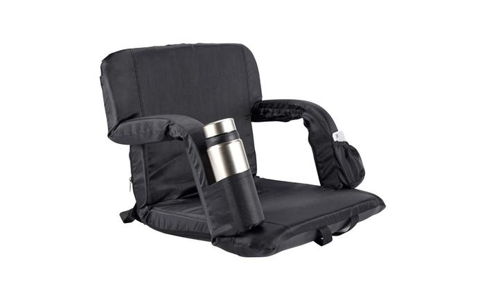 Fine Hishine Stadium Seat Folding Chair Freely Adjust Seat Angle Creativecarmelina Interior Chair Design Creativecarmelinacom