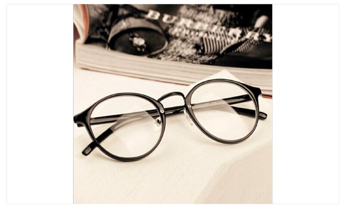 Retro Eyeglasses With Clear Lens For Women