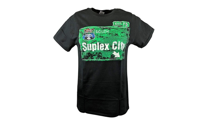 e2f02cb9 Up To 59% Off on Hybrid Tees Brock Lesnar Supl... | Groupon Goods