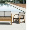 Manhattan Eucalyptus Patio Furniture Set (4-Piece)