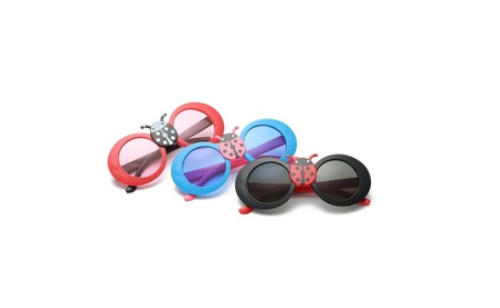 Children's Cartoon Glasses Children Lovely Lady Beetle Sunglasses d7b532b5-985b-444a-8eea-3e40000087d3