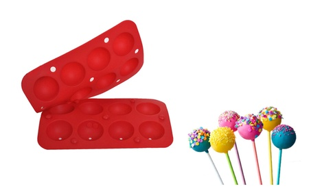 8 Cup Tasty Top Cake Pops Silicone Mold Tray 9cd96497-94ba-415e-98de-d7f1eb42a6c7