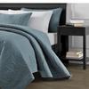Austin Quilted Oversize Bedspread Coverlet 3-piece Comforter Set