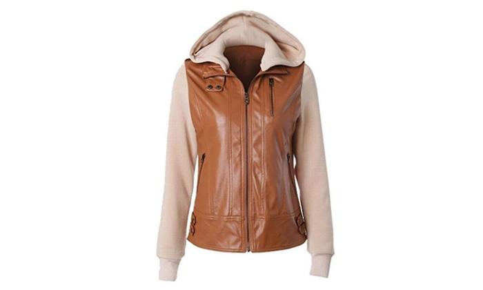 Women's Long Sleeve Hooded Simple Coat