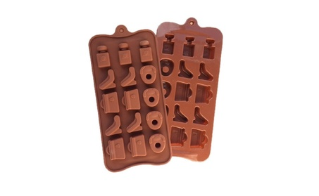Shoes, Perfume and Bag Silicone Chocolate, Candy and Gummy Mold 22c76a4c-7a76-42b7-aa2f-9dbc86a9d781