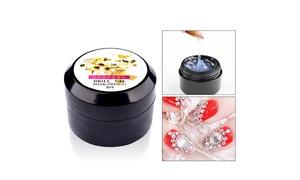 8ml Super Sticky Rhinestone Glue Adhesive Tip Manicure Nail Art Clear UV Gel