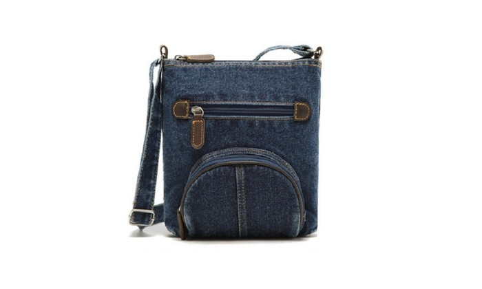 Retro Denim Crossbody Classic Canvas Bags