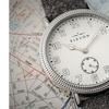 Elevon Northrop Wool-Overlaid Leather-Band Watch