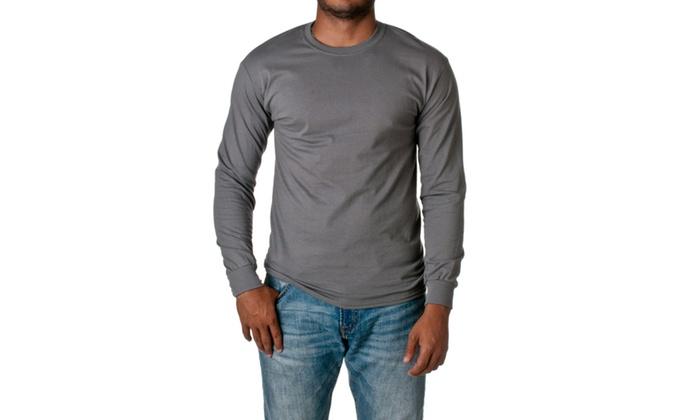 Gildan Ultra Cotton Long Sleeve Crewneck T-Shirt 2400-2