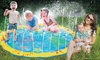 Water Sprinkler and Splash Play Mat for Toddlers