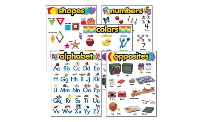 Trend Kindergarten Learning Chart-Learning Chart Combo Pack
