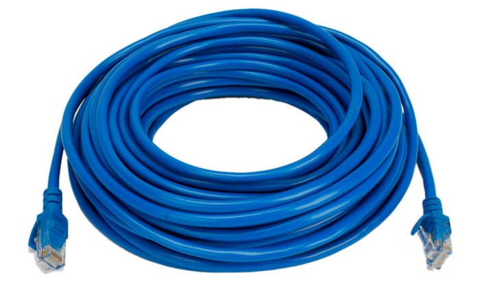 Prime New 50 Feet Cat5 Ethernet Lan Network Cable Cord Utp 15 Meter Blue Wiring 101 Vieworaxxcnl