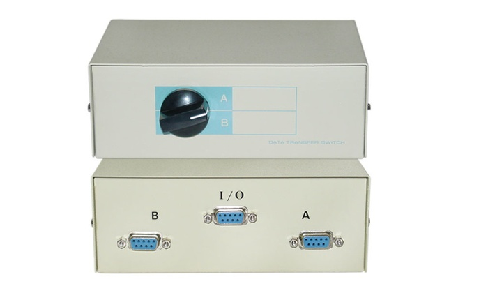 Cable Ab 2 Way Switch Box, Db9...