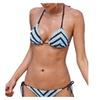 Women's No Underwire PullOnStyle Mid Rise Bikini Sets