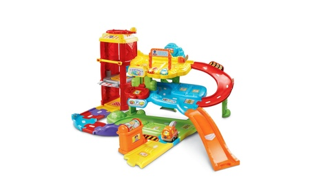 VTech Go! Go! Smart Wheels Park and Learn Deluxe Garage 21a21a29-dc36-4e25-a637-845dce6062fa