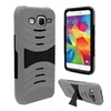 Insten Hybrid Hard Case For Samsung Galaxy Core Prime Gray/black