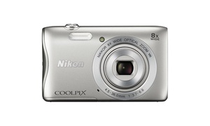 Refurbished Nikon COOLPIX S3700 Digital Camera 8x optical zoom with WiFi -Silver