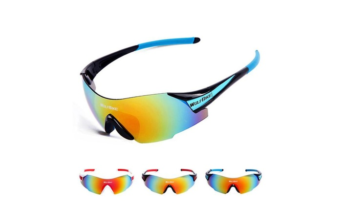 Sports Cycling Sunglasses for Men Women Cycling Riding Running Glasses
