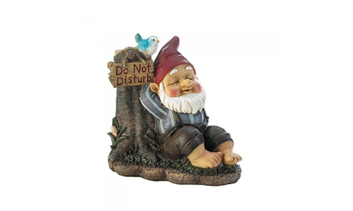 AEWholesale 10017760 Do Not Disturb Gnome Garden Decor ...