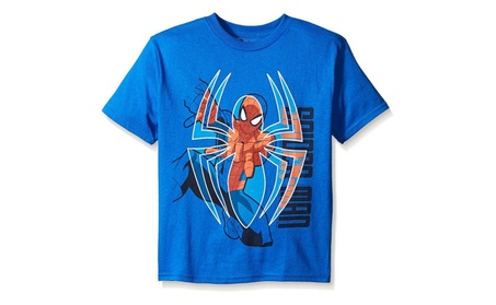Marvel Boys' Little Boys' Spiderman Web Shooting Short Sleeve T-Shirt 8bb73cca-37a8-4588-afc6-f3b07bed05a7