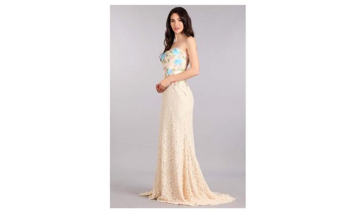 Blue Rose Sweetheart Dress Groupon