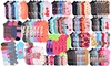 (12 Pairs) Mystery Kids' Low Cut Ankle Socks