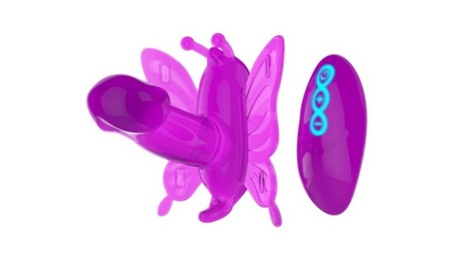 Wireless Control Butterfly Dildo Vibrator Adult Wearable Toy 933bd26b-e87f-45b2-bba3-7841d6864c50