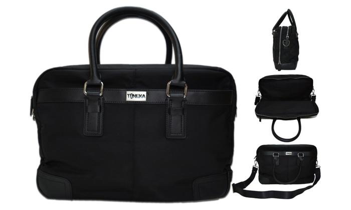 391228 - Toneka Latit Black Casual Bussiness Shoulder Laptop Bag