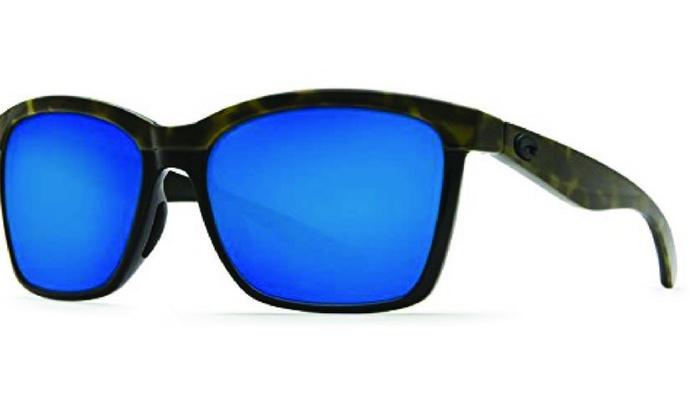6a0c8c1a1a Costa Del Mar Anaa ANA 109 OBMP Olive Tortoise Black  Blue Mirror 580P ...