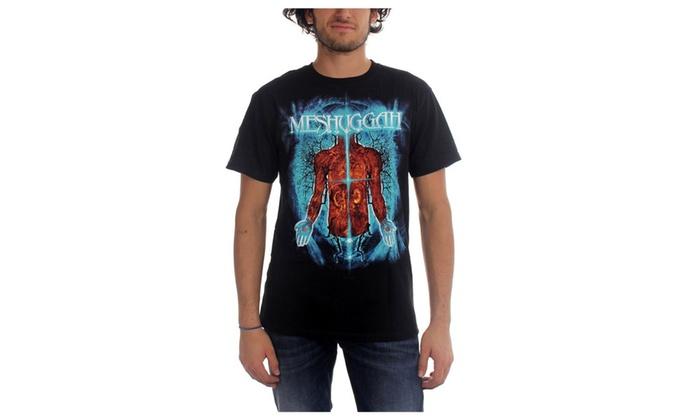 Meshuggah Mens Branches Of Anatomy T Shirt Groupon