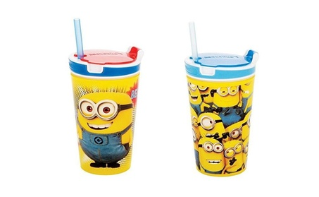 New Designed Minions 2 in 1 Snack & Drink Cup 99db95b0-4aac-4d65-8d86-d5e763357799