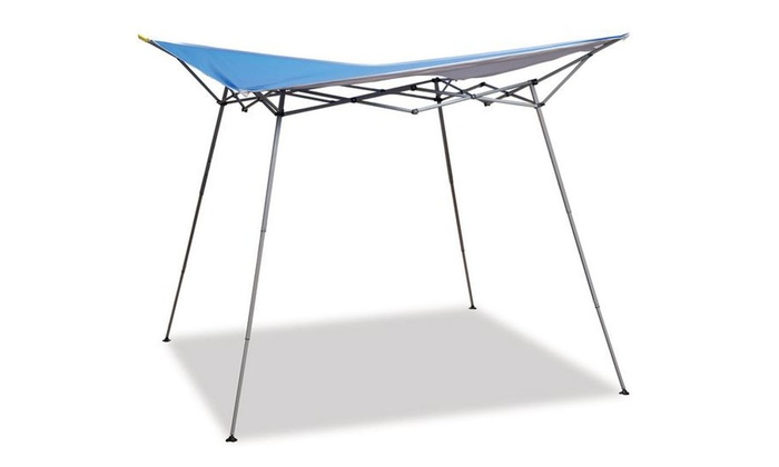 Folding Shade Canopy Instant Lightweight Pop Up 8 X Ft
