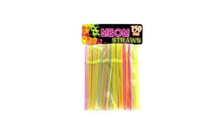 Neon Party Bending Straws d5f614c2-e188-4283-ad14-e02fa7c37e3f