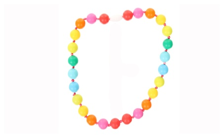FAMILIFE Teething Necklaces for Baby, Food Grade Silicone Teether 49aaf4ef-fc1c-470b-82c3-acef923d09a7