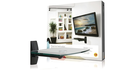 Omni Mount ECSB Component Shelf for CRT TVs and Video Accessories
