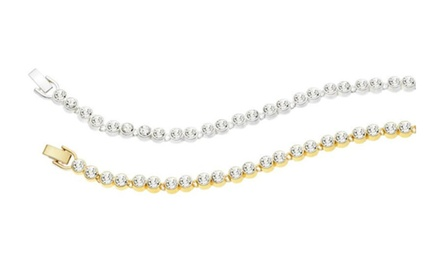 Timeless Dreams Tennis Bracelet with Swarovski Elements