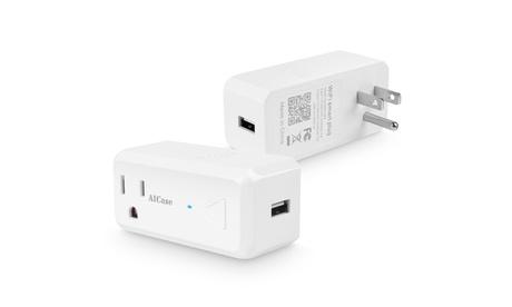 Wifi Smart Plug Socket Outlet W/ USB Port Alexa Enabled (2,4, 8- Pack) photo