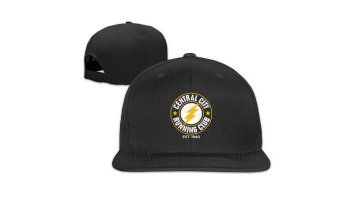 f83da1a7 6TN Mens Central City Running Club Baseball Cap Hats Black | Groupon