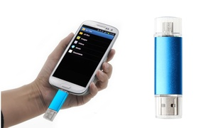 Laava Dual OTG USB 2.0 Flash Drive for Android (16, 32, or 64GB)