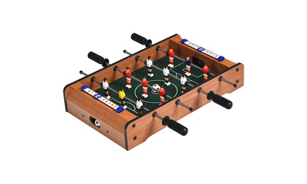 Costway 20'' Foosball Table Mini Tabletop Soccer Game Christmas Gift Sports