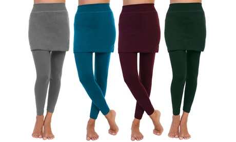 Women's Skirted Leggings S-2X