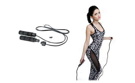 Jump Rope For Fitness Lovers 3 in 1 Adjustable Length Training