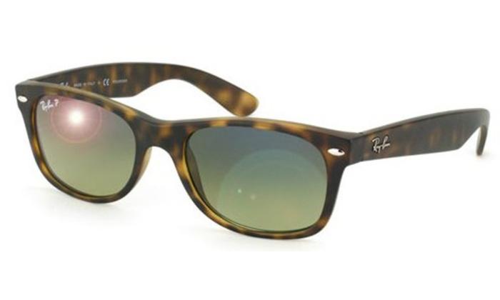 2775447786 Ray-Ban New Wayfarer Polarized Mens Sunglasses RB2132-894 76-52 ...