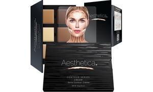 Aesthetica Cream Contour and Highlighting Makeup Kit (7-Piece)