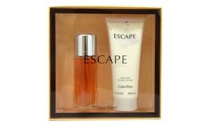 Calvin Klein Escape 3.4oz EDP Spray, 6.7oz Body Lotion