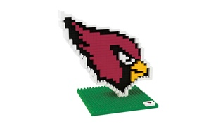 Forever Collectibles - NFL 3D BRXLZ Logo Building Blocks